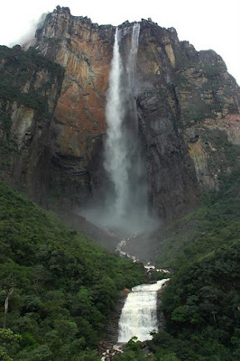 A maior cachoeira do mundo Angel Falls