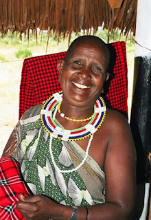 Wise Maasai elder of Kenya