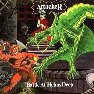 Attacker - Battle At Helms Deep (1985)