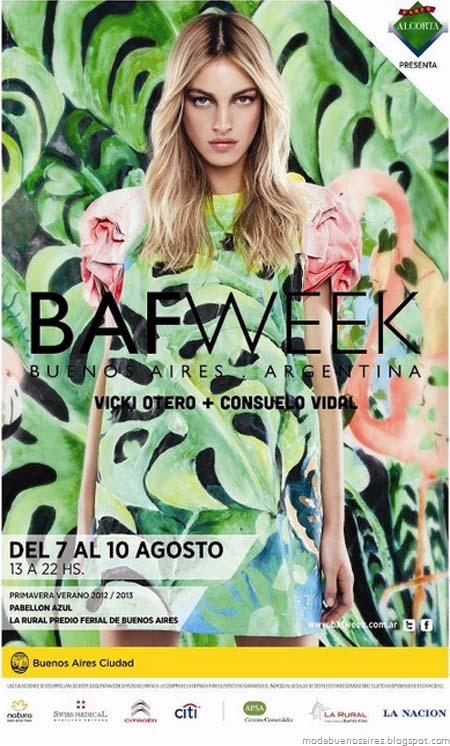 Bafweek primavera verano 2013. Back.