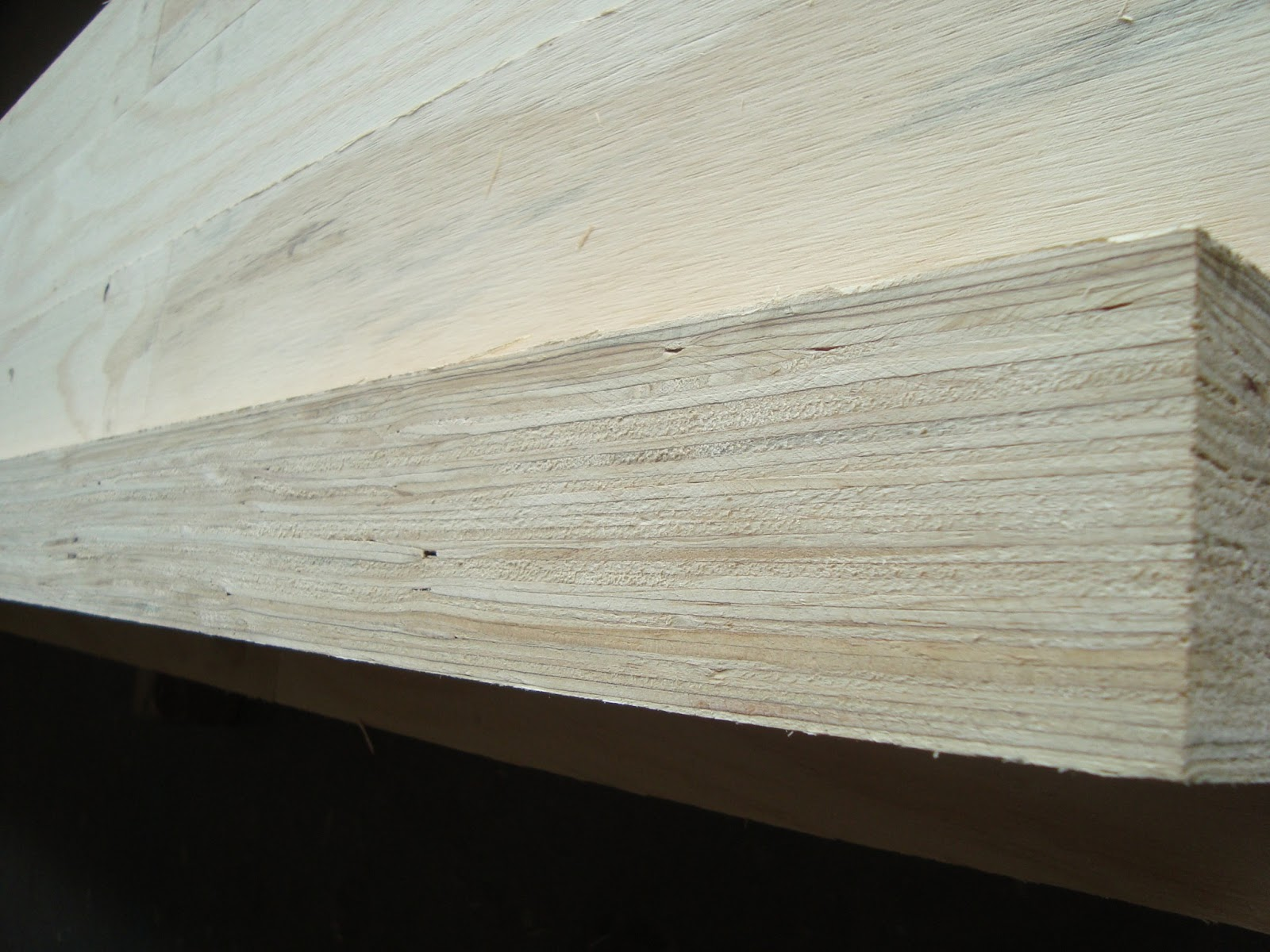 Plywood Laminated Pine ~ Linyi qifeng plywood factory poplar pine laminated veneer