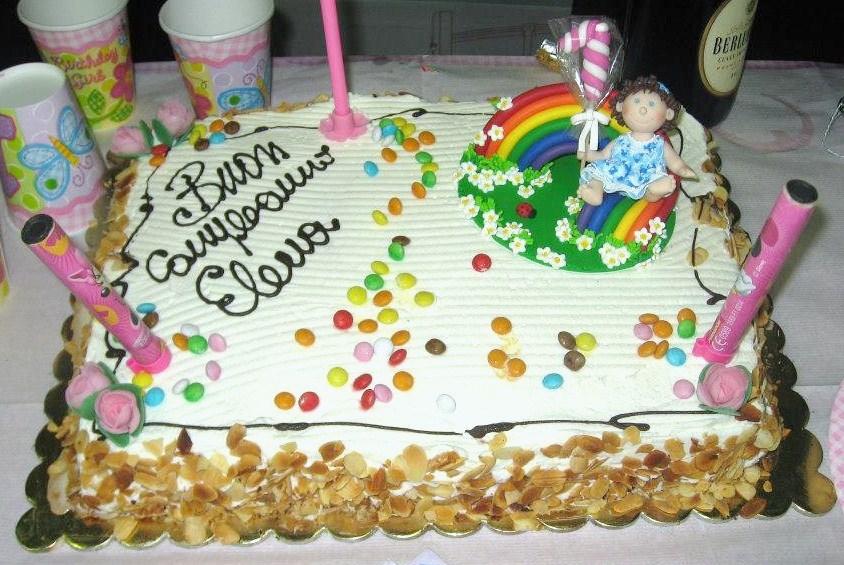 Eccezionale Sopra La Torta: Le foto della torta di Elena! US53