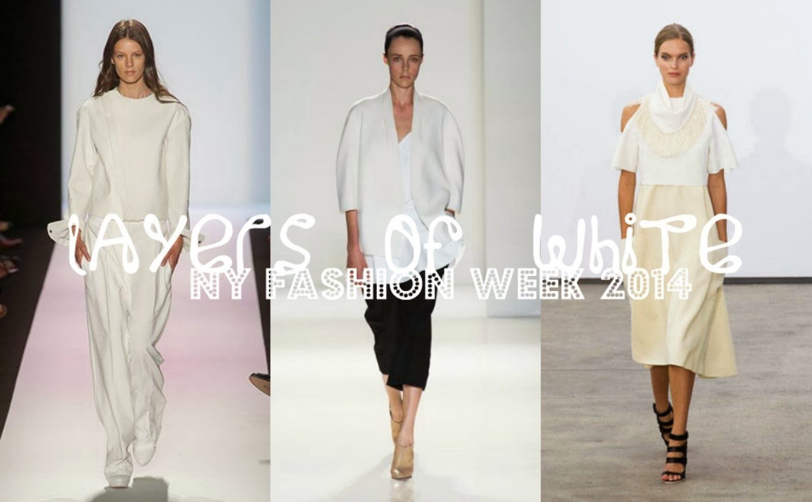 layers of white, white fashion, New York fashion