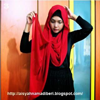 Cara Memakai Jilbab Kreasi Jilbab Paris Cantik Terbaru