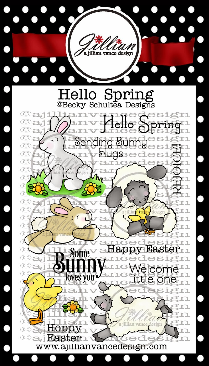 Hello Spring Stamp Set