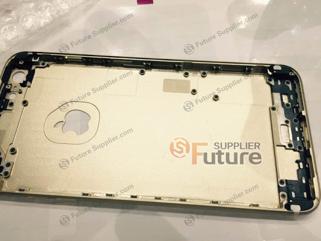 iphone 6s gold rear shell leaked
