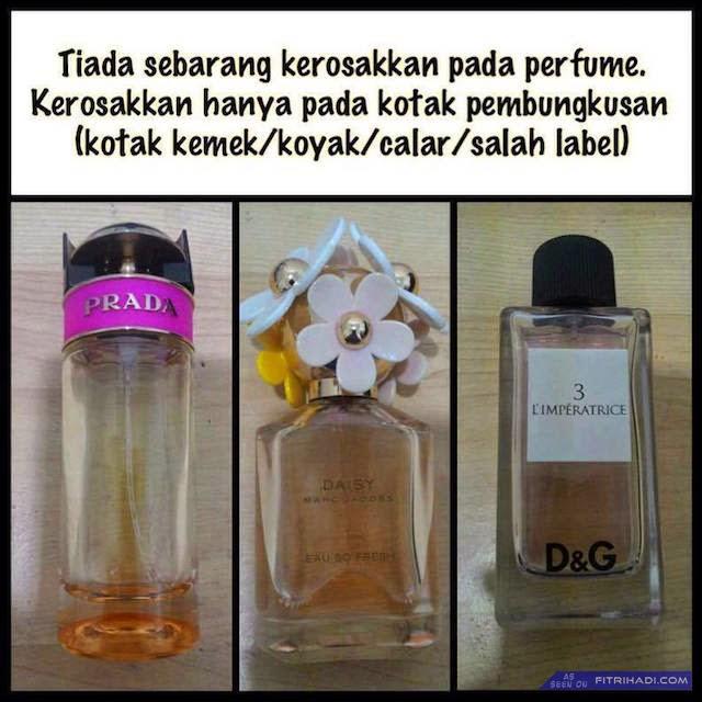 (Info) Kenapa Perfume Dan Minyak Wangi Reject Lebih Murah?