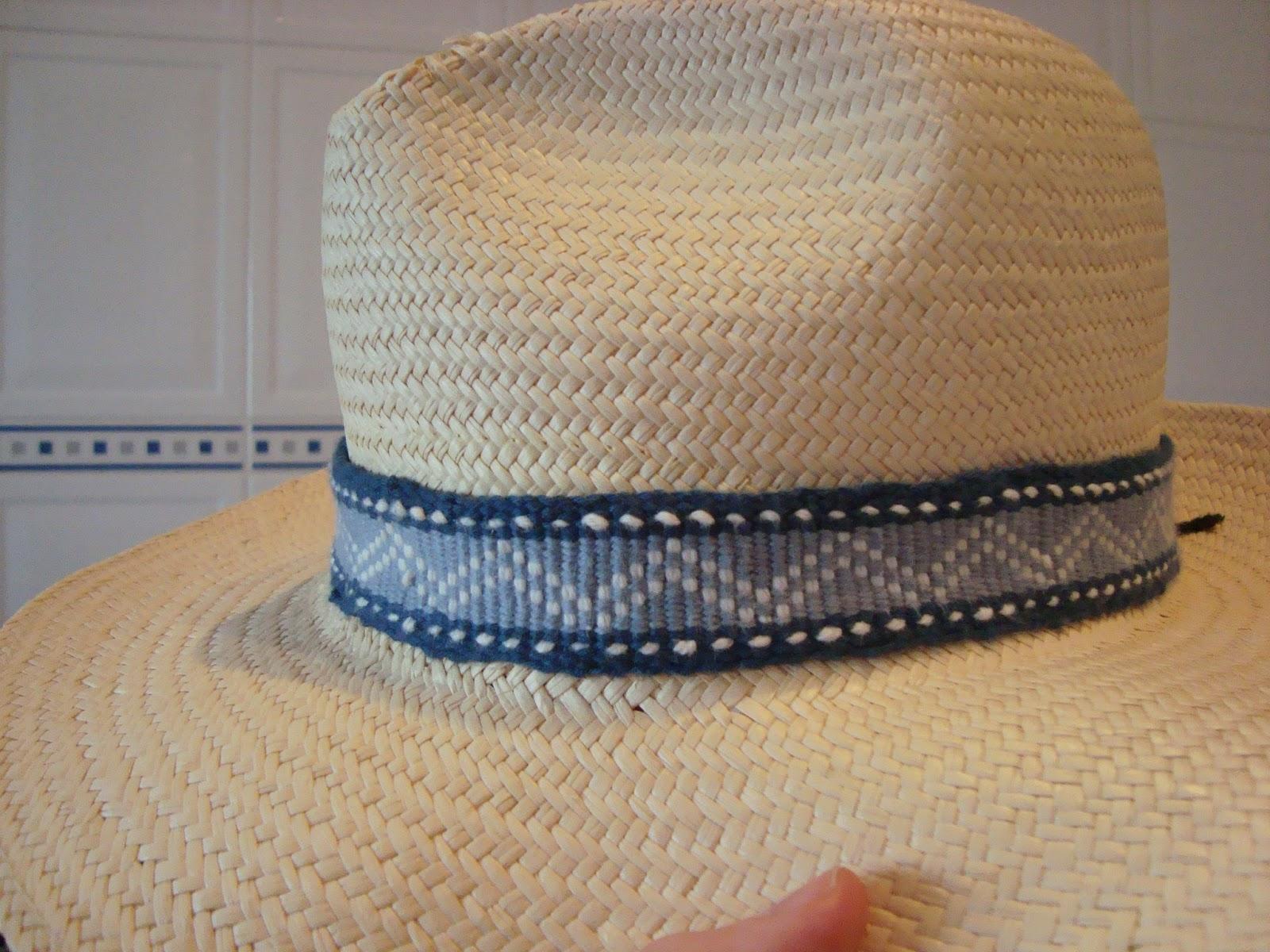 Giosennifer strisce per cappelli tessute a mano sul mio telaio da tavolo rigid heddle loom - Cappelli per lampade da tavolo ...