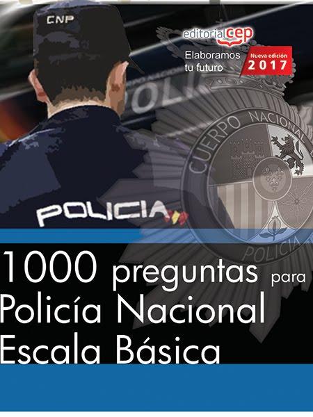 OPOSITA A POLICÍA NACIONAL. TEMARIO PROPIO.