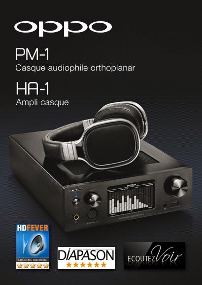 Oppo PM-1 et HA-1