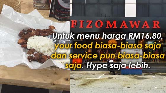 Lagi Pelanggan Tak Puas Hati Dengan Servis FizoMawar Kitchen