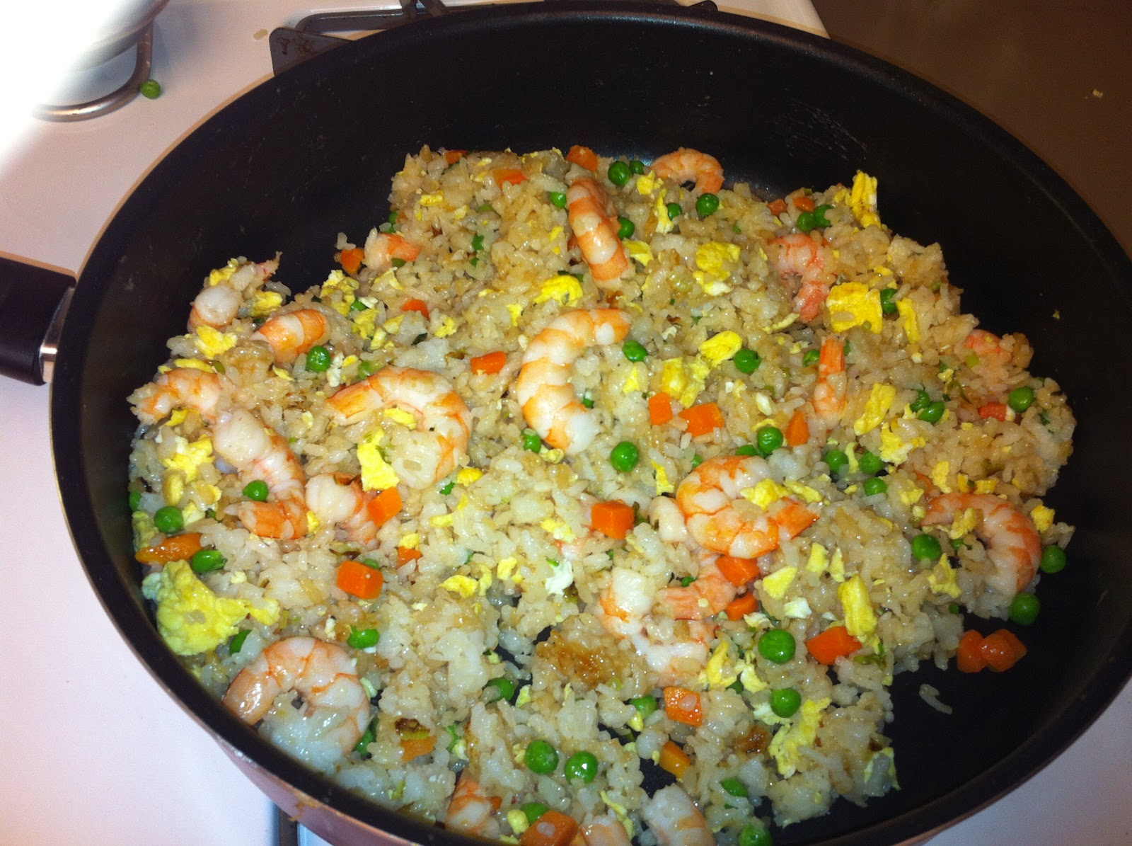 Adventures of a Semper Fi Family: In the Kitchen: Shrimp Fried Rice