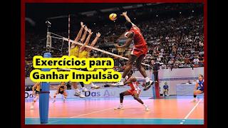 Exercícios para impulsão vertical no Voleibol
