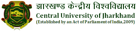 CENTRAL UNIVERSITY OF JHARKHAND ADMISSION RESULTS - 2015