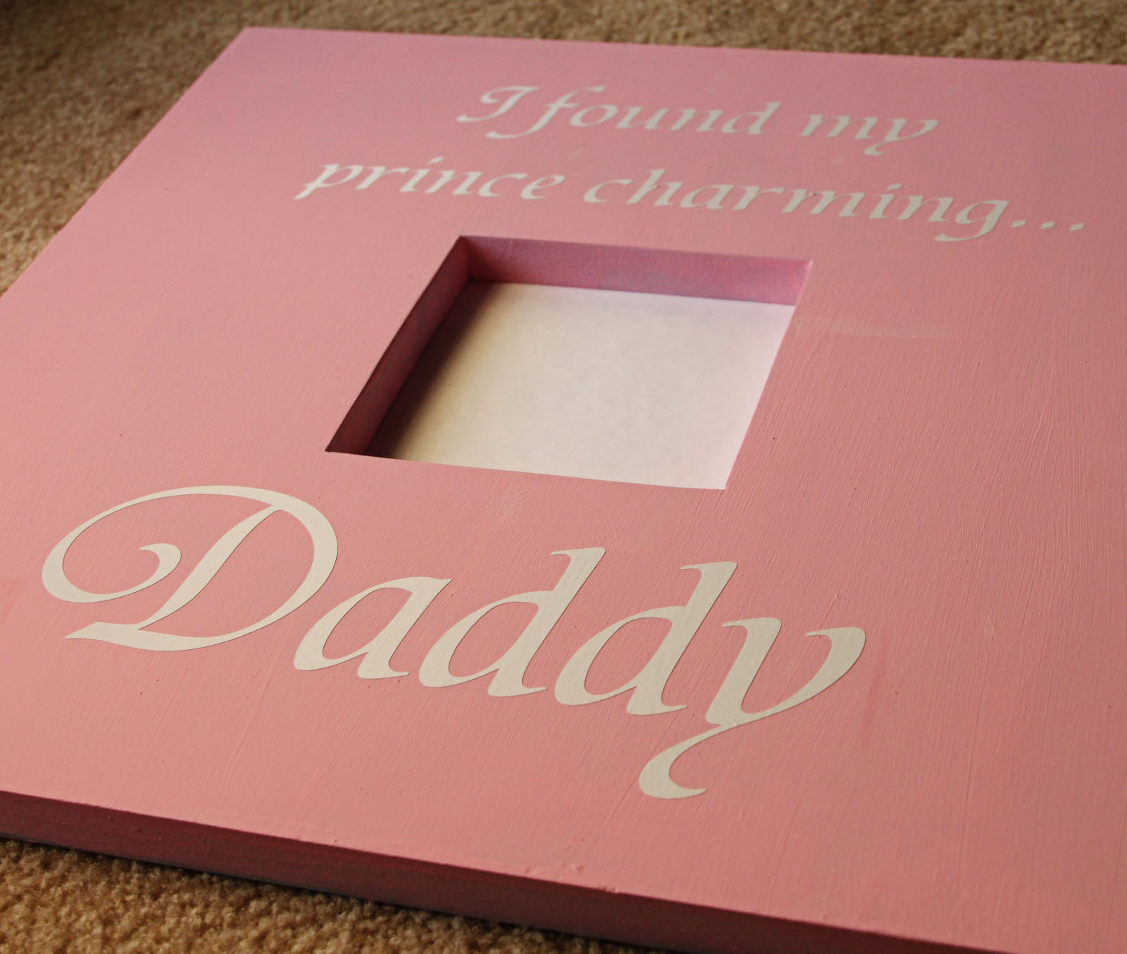 Creative Mommas: Father\'s Day Picture Frames