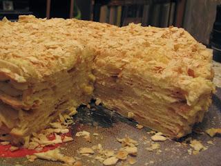 торт, торт наполеон
