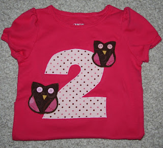 two birthday shirt machine embroidery
