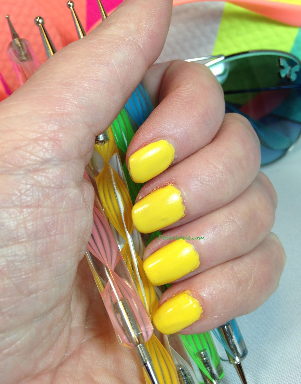 review, swatches, Spring 2014, Oh So Orange, Lime Luster