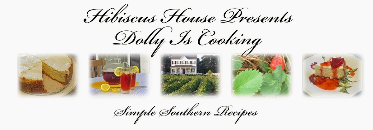 Hibiscus House Presents Dolly is Cooking Blog