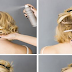 How To Make Updo Hairstyle With Short Hair
