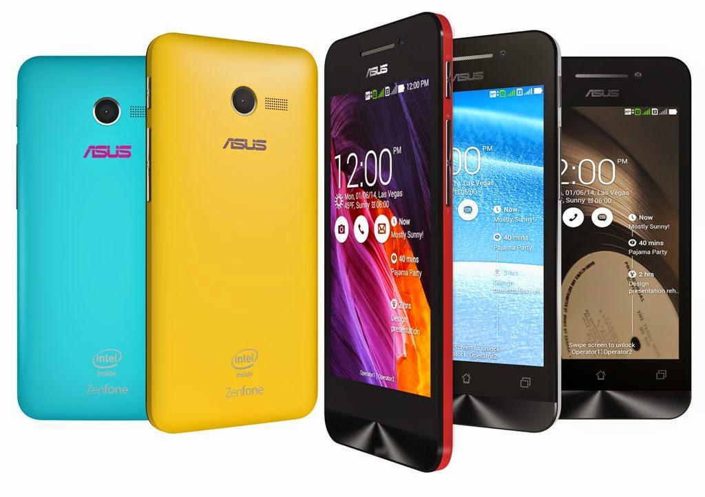 Asus Zenfone 4 - Smartphone dengan layar 4 inci