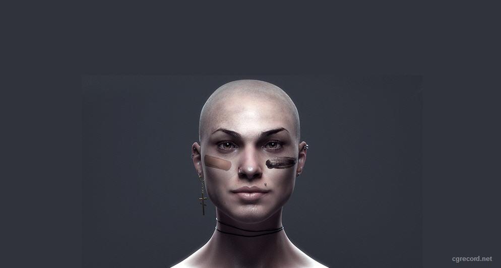 Gnomon DVD Painting Realistic Skin in Mari 2 0 | Computer Graphics