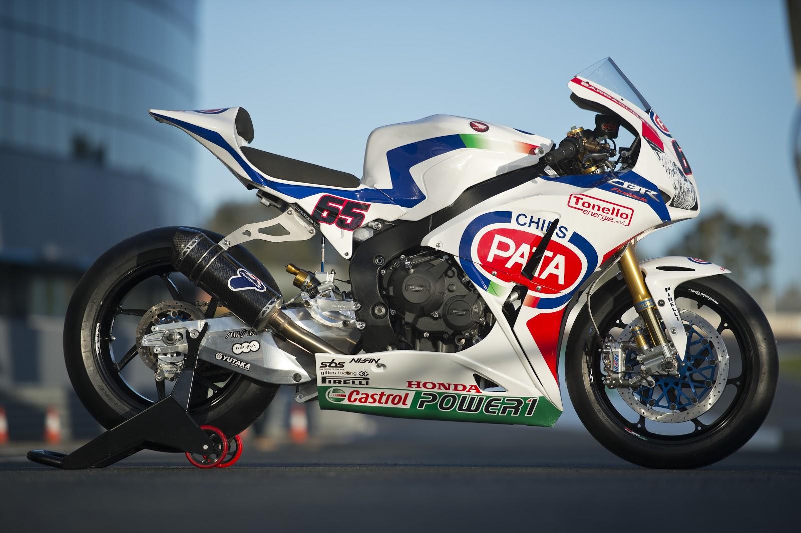 Racing Caf    Honda CBR 1000 RR WSBK Team Pata Honda 2013