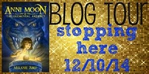 Anni Moon and the Elemental Artifact Blog Tour