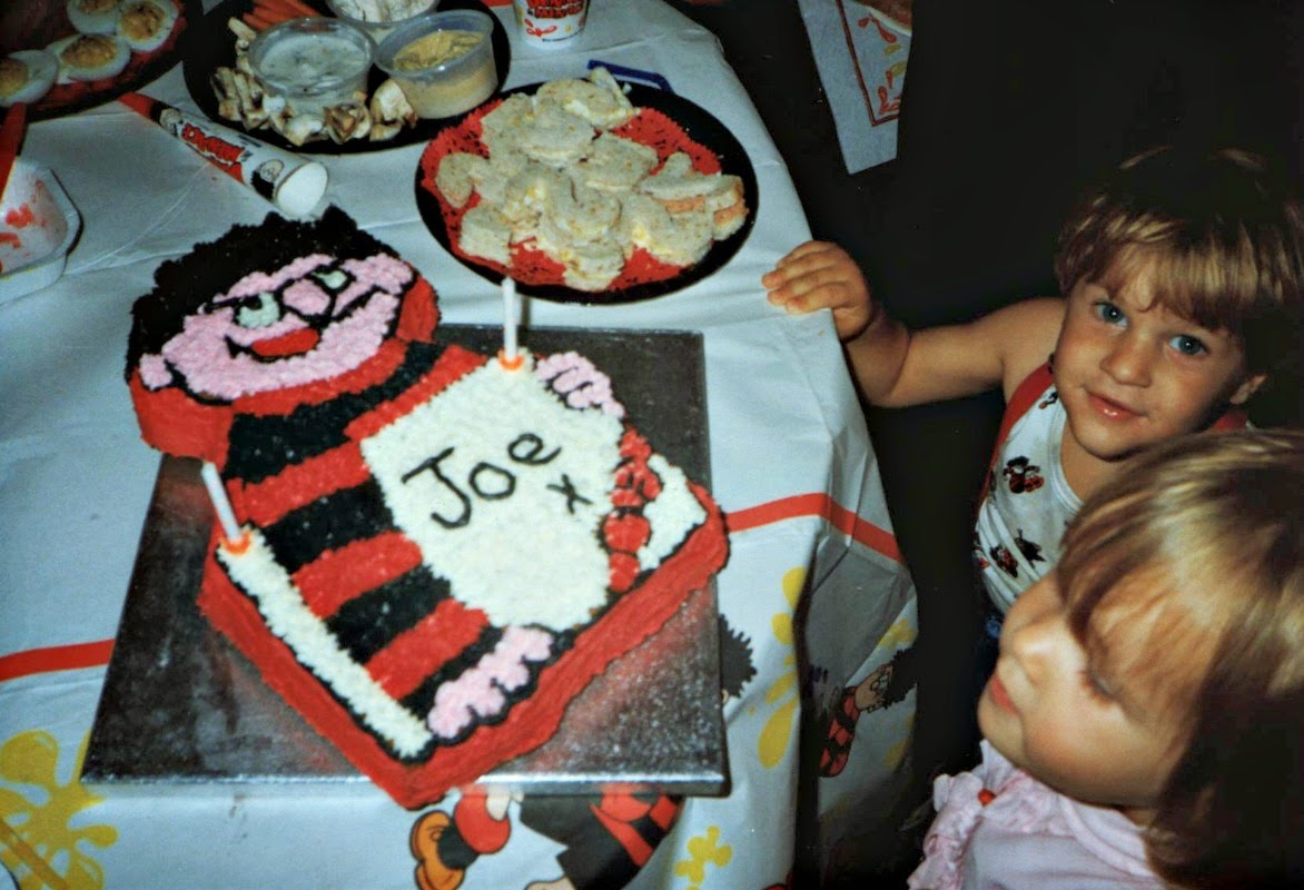 Beano, second birthday, Dennis the menace