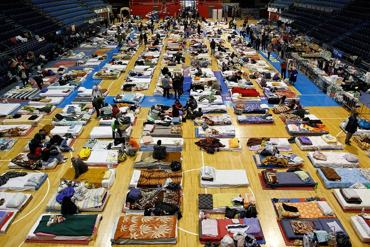 Inundaciones en Serbia. Se usan estadios y escuelas como albergues | Mundo Handball
