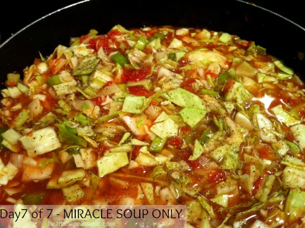 miracle soup, eat your heart out cleanse