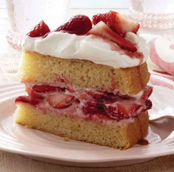Easy Food Recipes and Cooking - Classic Strawberry Shortcake