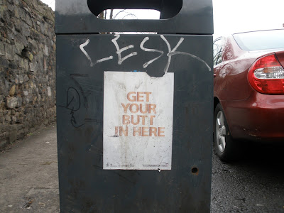 Aggressive anti-littering campaign.