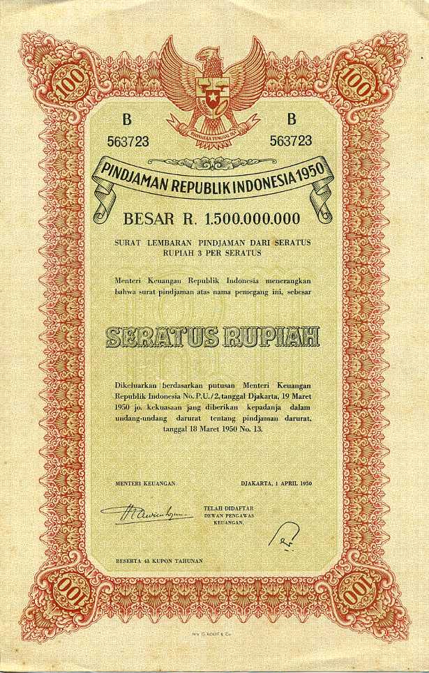 Uang Di Gunting Pada Tahun 1950 | Uang Kuno Barang Antik
