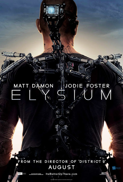 Elysium 2013 Movie Poster in HD