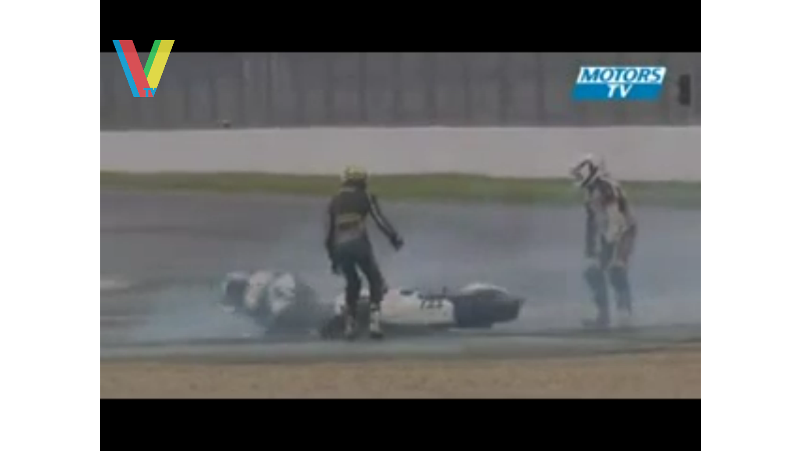 MotoGP Funny Accident