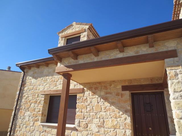 El talon sierte construcci n en segovia abril 2012 for Plaqueta imitacion madera
