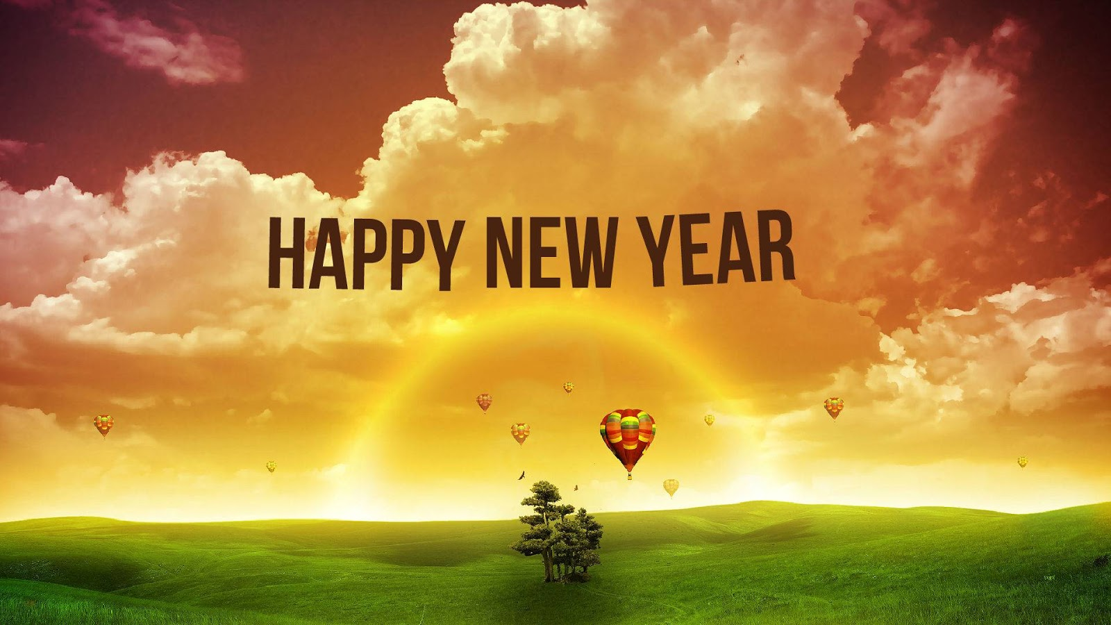 New Year Wallpapers With Love 2016 Realistic coloring Pages