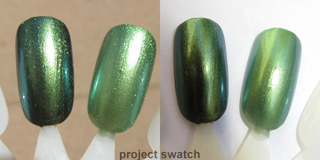 Maybelline 700 Avante Green - swatch