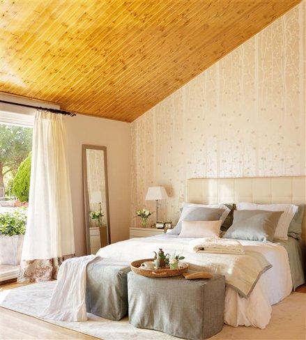 Decora o forro de madeira natural cores da casa - El mueble decoracion dormitorios ...