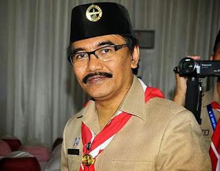 Kak Adhyaksa Dault, Ketua Kwarnas Gerakan Pramuka 2013-2018