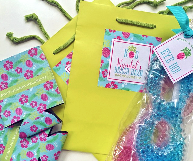 Tropical Bachelorette Welcome Bag