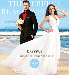 Beach Wedding Dresses at Dresswe.com