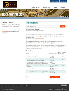 Tracking Package  i-parcel.com