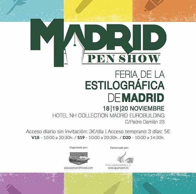 PEN SHOW DE MADRID