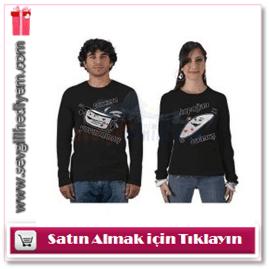 Sevgililere Özel Tencere İle Kapak T-Shirt