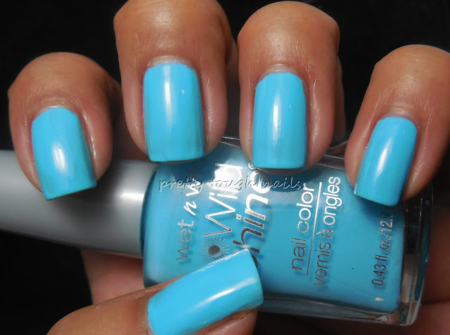 Wet n Wild Teal Slowly See