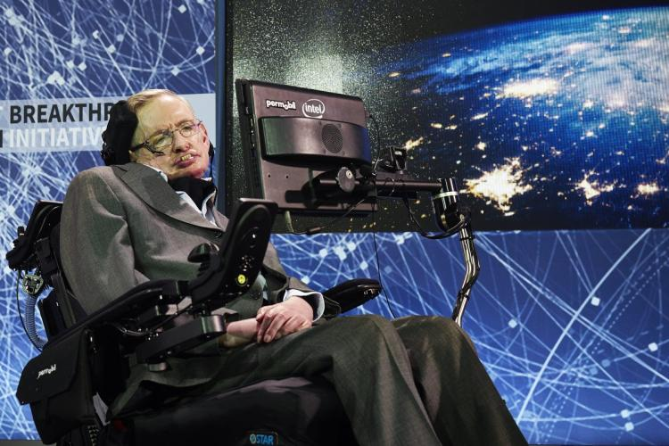 STEPHEN HAWKING (1942-2018) THEORETICAL PHYSICIST - AUTHOR