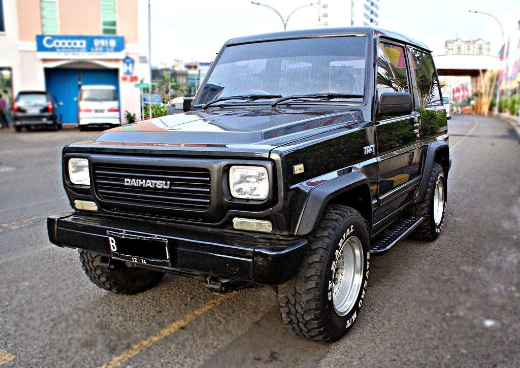Modifikasi Daihatsu Taft 1982