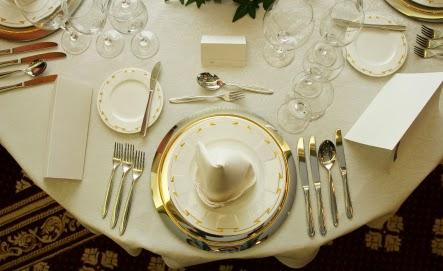 Savoir vivre g savoir dresser le couvert for Couvert table disposition
